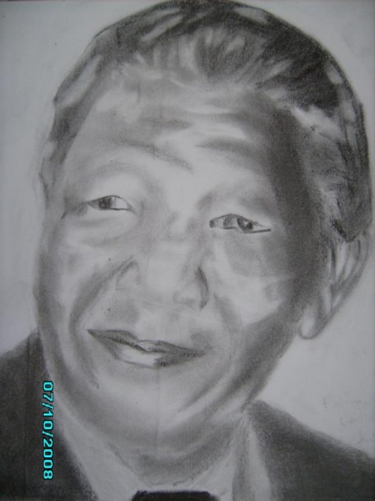 Nelson Mandela por falloudiop